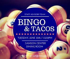 Bingo and Tacos