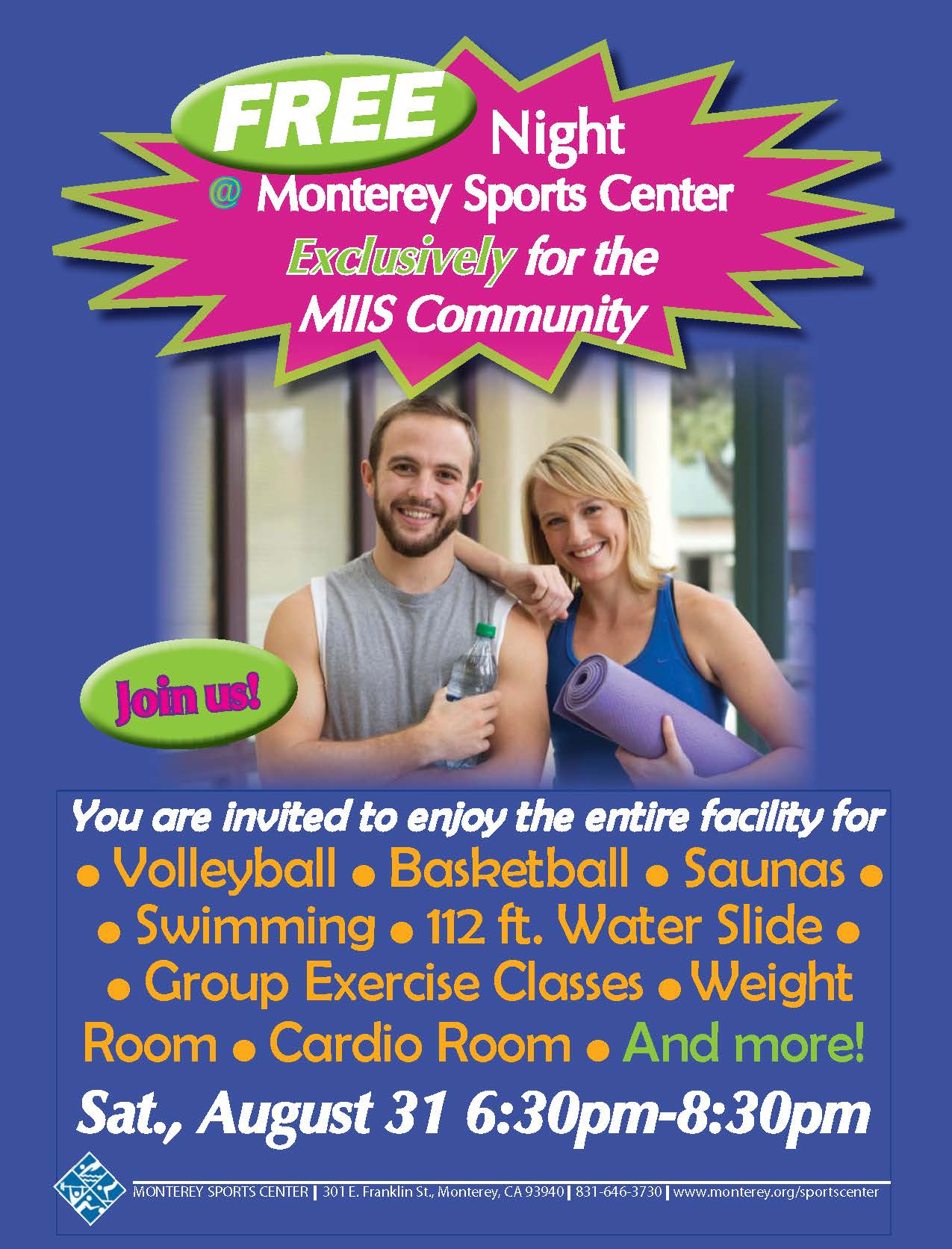 Group Exercise Flyer Group Exercise Classes And