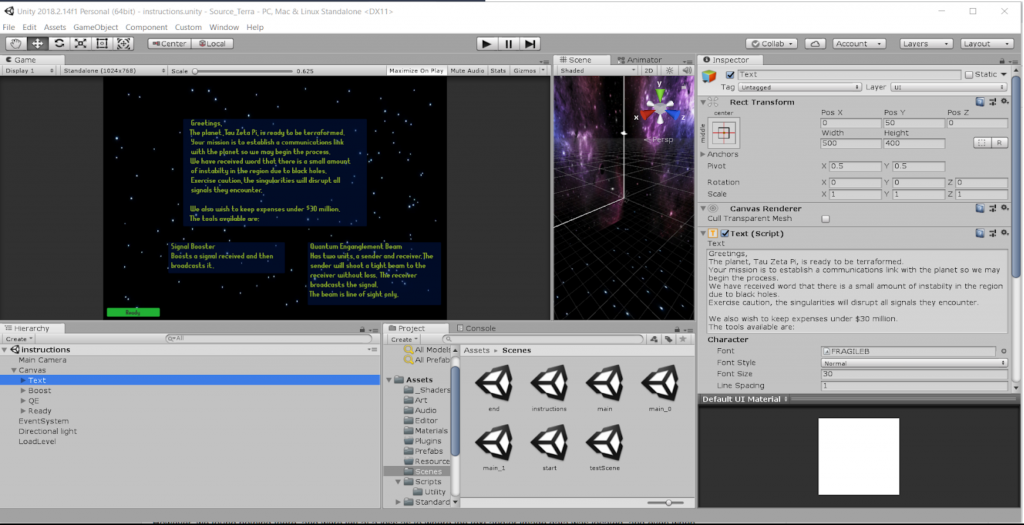 Proof of Concept: Localizing a Unity Game – Timothy Saar