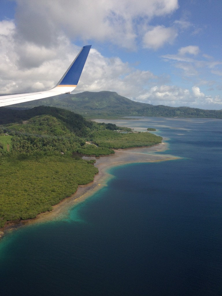 Flight to Pohnpei